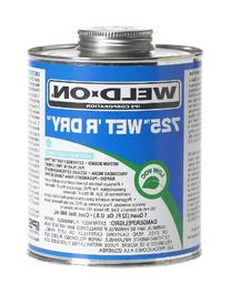 Weld-On 10167 Aqua Blue 725 Medium-Bodied Wet 'R Dry PVC