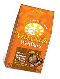 Wellness Natural Grain Free Wellbars Crunchy Dog Treats,