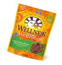 Wellness WellBites Soft Natural Dog Treats, Lamb & Salmon, 8