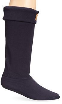 Joules Women's Welton Rain Boot Socks, Marine Navy, Medium