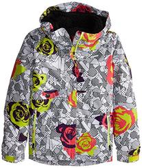 Girl's Wendy Insulated Jacket, Medium, Fuchsia Floral
