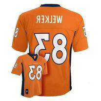 Wes Welker Denver Broncos Orange NFL Youth 2014-15 Season