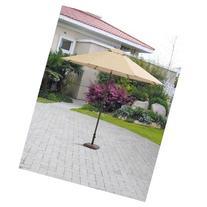 Mainstays Wesley Creek 9' Umbrella, Tan