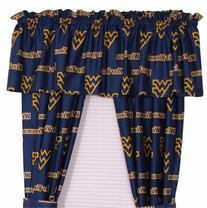 West Virginia Mountaineers Window Treatments Curtains
