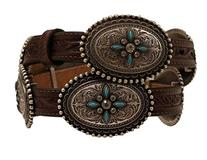 Ariat Western Belt Woens Conchos Stone Leather 3/4 A1516002