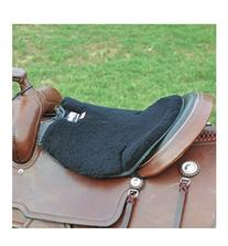 Cashel Western Long Fleece Tush Cushion Black
