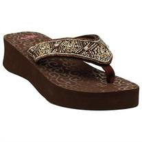 Blazin Roxx Western Shoes Womens Sally Flip Flops 4117202