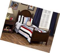 Hillsdale Westfield Bed in Espresso Finish - Twin
