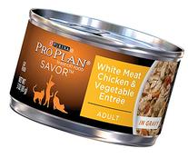 Purina Pro Plan Wet Cat Food, Savor, Adult White Meat