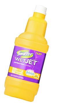 Swiffer WetJet Spray Mop Antibacterial Floor Cleaner,