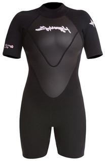 Hyperflex Wetsuits Women's Access 2.5mm Spring Suit, Black/