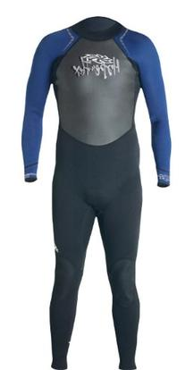 Hyperflex Wetsuits Men's Access 3/2mm Full Suit, Black/Blue
