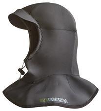 Hyperflex Wetsuits Men's Hood 3/2mm Bibbed Hood,Black,Medium