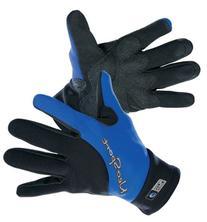 NeoSport Wetsuits Premium 2mm Neoprene Glove , Blue Trim,