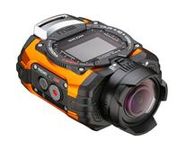 Ricoh WG-M1 Orange Waterproof Action Video Camera with 1.5-