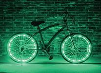 Brightz, Ltd. Green Wheel Brightz LED Bicycle Accessory