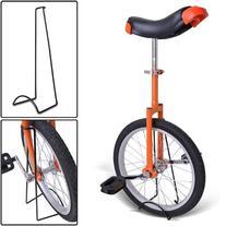 """Orange 18 Inch 18"""" Unicycle Cycling Bike With Adjustable"""