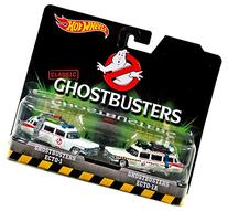 Hot Wheels, Classic Ghostbusters Ecto-1 and Ecto-1A Die-Cast