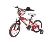 Dynacraft Boy's 14-Inch Hot Wheels Bike, Red/White/Black