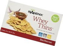 Isagenix Whey Thins 100 Calorie Packets   Barbecue Flavor