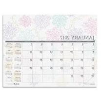 Doolittle Whimsical Doodle Monthly Desk Pad