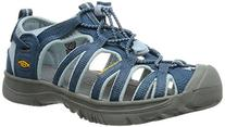 KEEN Whisper Sandal ,Indian Teal/Corydalis Blue,2 M US