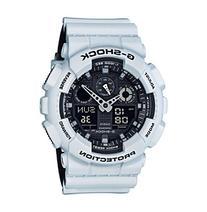 G-Shock Men's White Analog-Digital Watch with Layered Resin