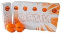 Nitro White Out Ball , Orange