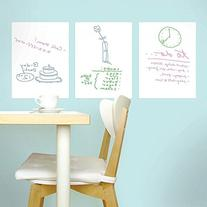 Houseables White Board Wall Sticker, Whiteboard Dry Erase