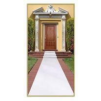 Beistle 50087-W White Carpet Runner, Pack Of 6