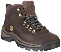 TimberlanD Women's White LeDge MiD Ankle Boot,Dark Brown,8.5