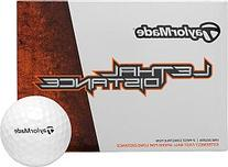 TaylorMade White Lethal Distance Golf Ball
