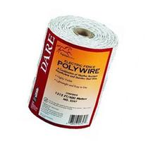 Dare #2347 1312' White Poly Wire