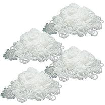 BlueDot Trading 2400-Piece White Rubber Band Kids Craft with