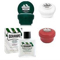 Proraso White Soap 150 ml + Red Soap 150ml + Green Soap 4oz