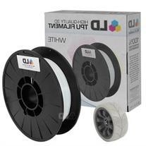 LD White 1.75mm 0.5kg TPU Filament for 3D Printers