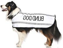 Deaf Dog White Warm Dog Coats S M M L L XL Waterproof
