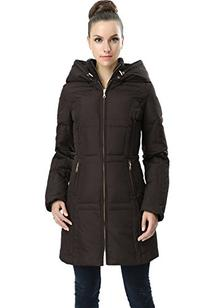 "Jessie G. Women's ""Whitney"" Water Resistant Hooded Puffer"