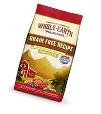 Whole Earth Farms Grain Free Recipe Dry Dog Food, Pork, Beef