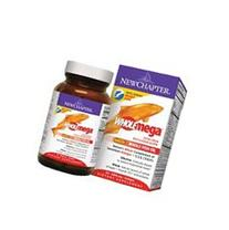 New Chapter Wholemega Fish Oil Supplement with Omega-3,