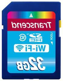 Transcend 32 GB Wi-Fi SDHC Class 10 Memory Card