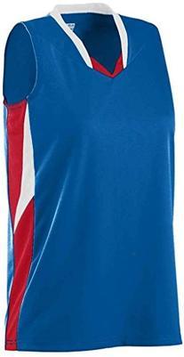 Augusta Sportswear Girls' Wicking Duo Knit Attack Jersey S