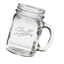 Ball Wide Mouth Drinking Mason Jar