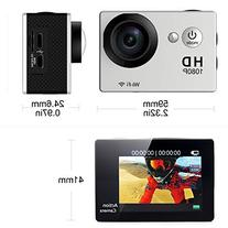 GooKit® WiFi 12MP Full HD 1080P 2.0inch 170 Degree Digital