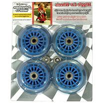 Wiggle Car Polyurethane Replacement Wheels - Blue