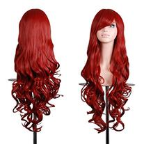 EmaxDesign Wigs 32 Inch Cosplay Wig For Women With Wig Cap