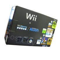 WII CONSOLE BLACK WITH WII SPORTS & WII SPORTS RESORT