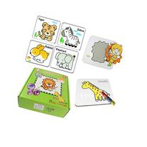 Coolplay Wild Animal Series Water Drawing Doodle & Jigsaw