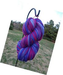 Shep's Wild Berry Merino Wool Top Roving Fiber Spinning,