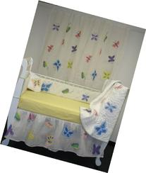 Wild Butterflies Bumper and Pillow Set